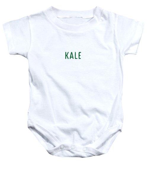 Kale Baby Onesie by Cortney Herron