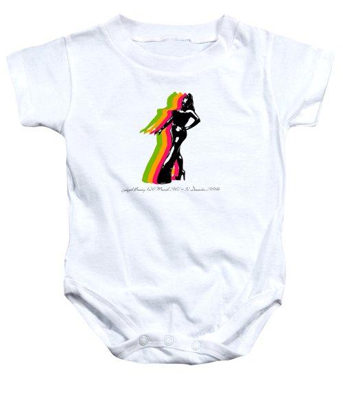Leigh Bowery 5 Baby Onesie by Mark Ashkenazi