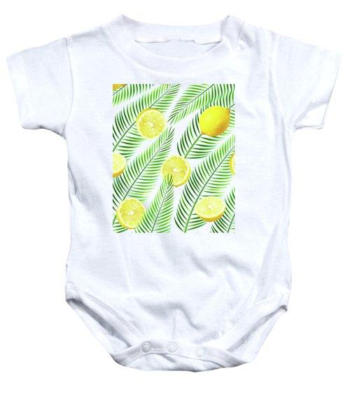 Lemons Baby Onesie by Uma Gokhale