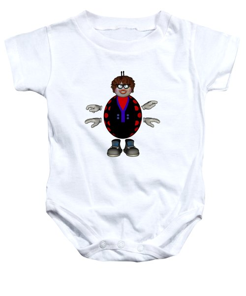 Lily The Ladybug Baby Onesie by Steve Kelly