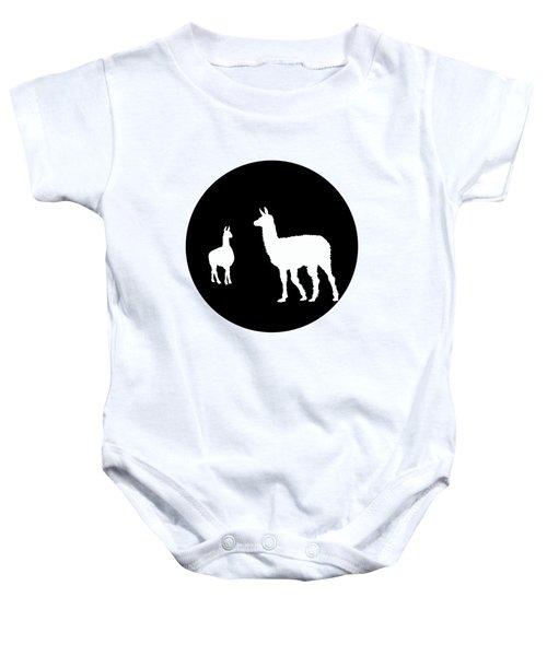 Llamas Baby Onesie by Mordax Furittus
