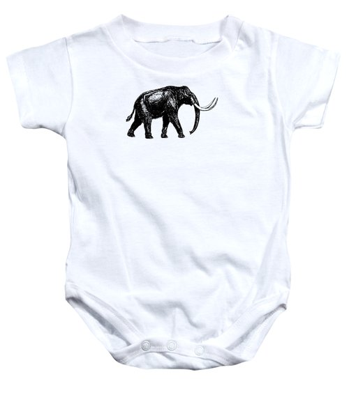 Mammoth Tee Baby Onesie by Edward Fielding