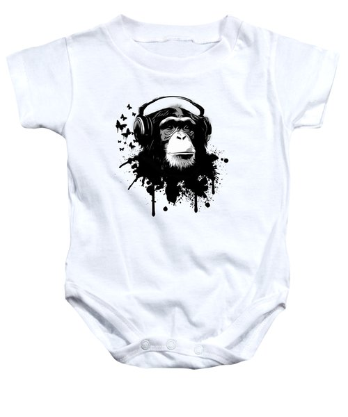 Monkey Business Baby Onesie by Nicklas Gustafsson