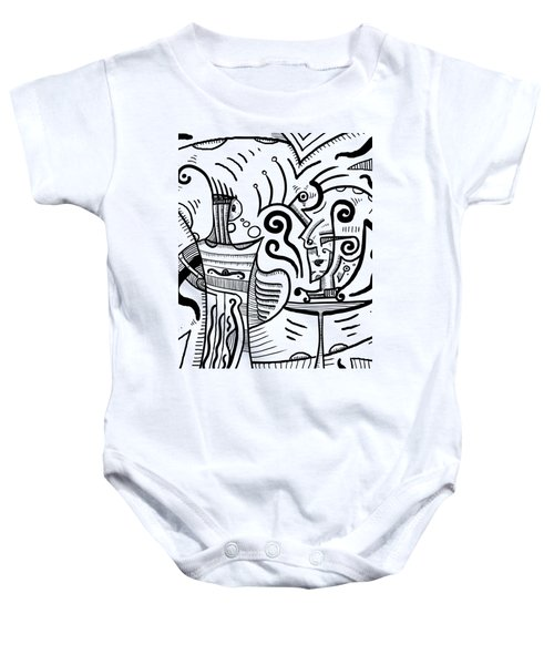 Mystical Powers Baby Onesie by Sotuland Art