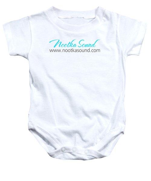 Nootka Sound Logo #11 Baby Onesie by Nootka Sound