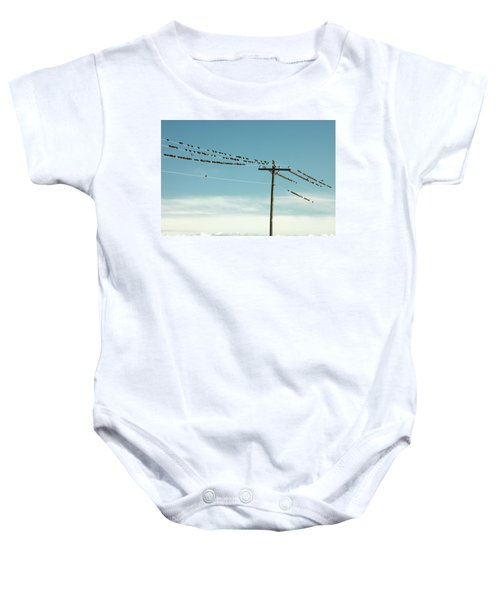 Not Like The Others Baby Onesie by Todd Klassy