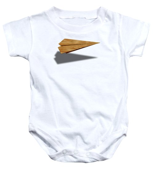 Paper Airplanes Of Wood 9 Baby Onesie by YoPedro