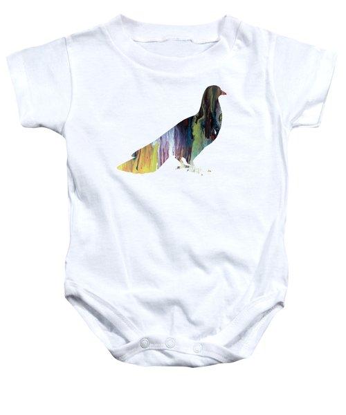 Pigeon Baby Onesie by Mordax Furittus