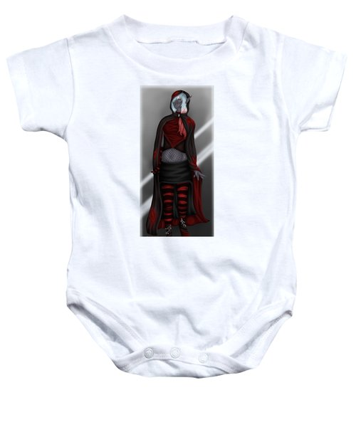 Pretentious Elf Baby Onesie by Amber Armstrong
