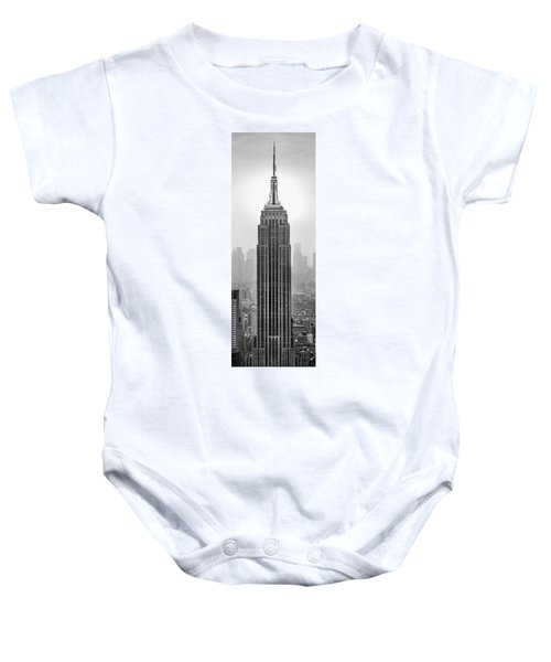 Pride Of An Empire Baby Onesie by Az Jackson