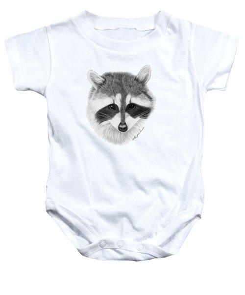 Raccoon Baby Onesie by Rita Palmer