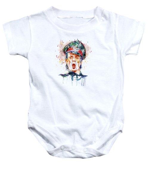 Scott Weiland Baby Onesie by Marian Voicu