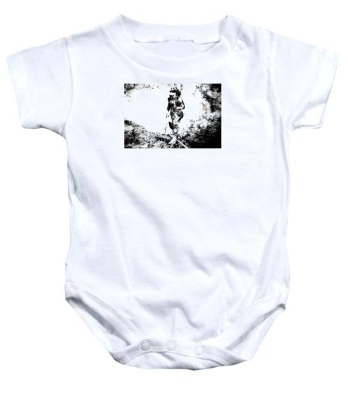 Serena Williams Dont Quit Baby Onesie by Brian Reaves