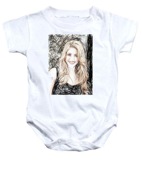 Shakira Baby Onesie by Raina Shah