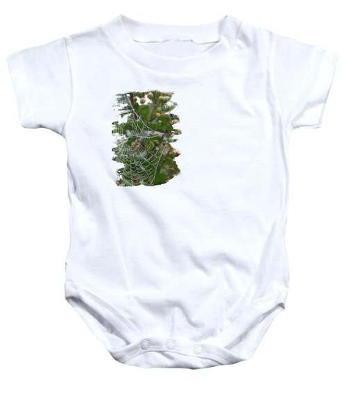 String Of Pearls Baby Onesie by Anita Faye