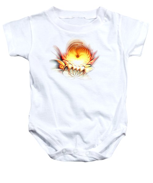 Sunrise In Neverland Baby Onesie by Anastasiya Malakhova