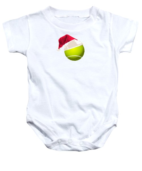 Tennis Christmas Gifts Baby Onesie by MGdezigns