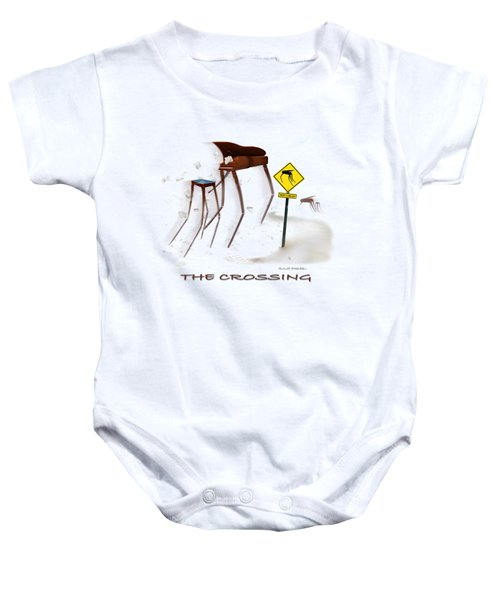 The Crossing Se Baby Onesie by Mike McGlothlen