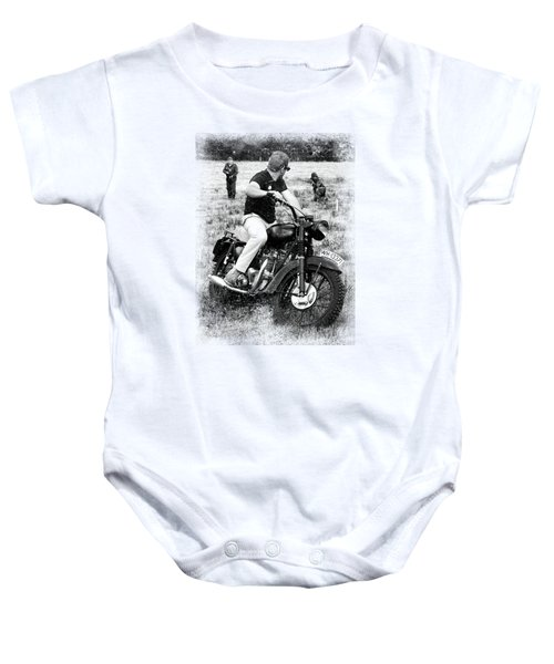 The Great Escape Baby Onesie by Mark Rogan