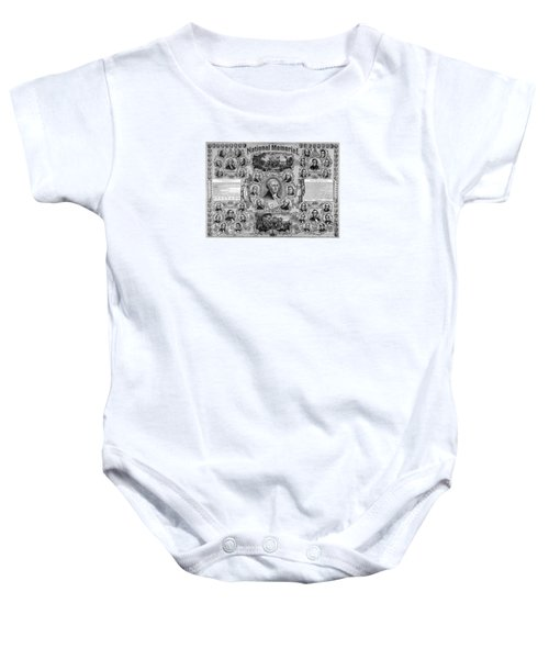 The Great National Memorial Baby Onesie by War Is Hell Store