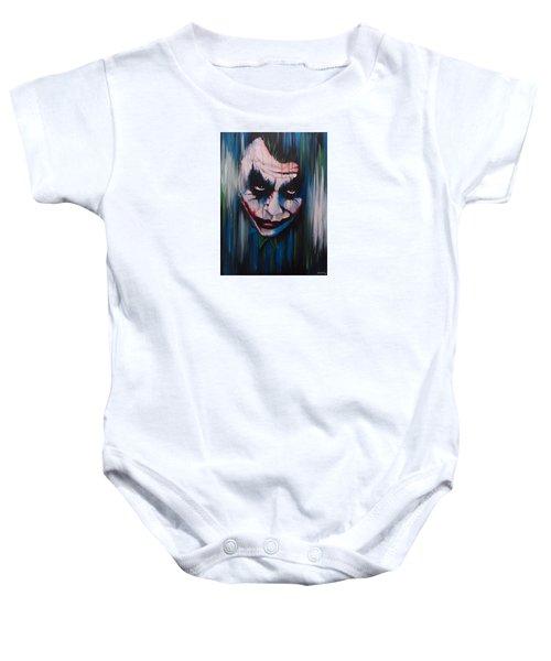 The Joker Baby Onesie by Michael Walden