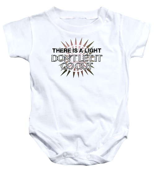 There Is A Light Baby Onesie by Clad63