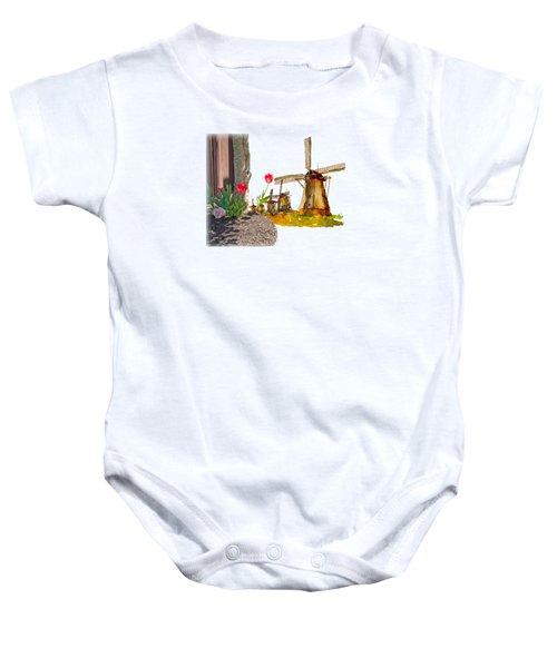 Thinkin Bout Home Baby Onesie by Larry Bishop