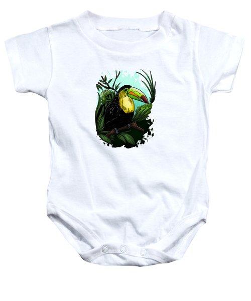 Toucan Baby Onesie by Adam Santana