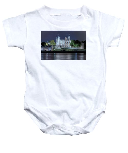 Tower Of London Baby Onesie by Joana Kruse