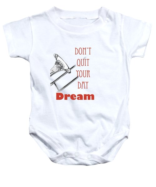 Trombone Fine Art Photographs Art Prints 5017.02 Baby Onesie by M K  Miller