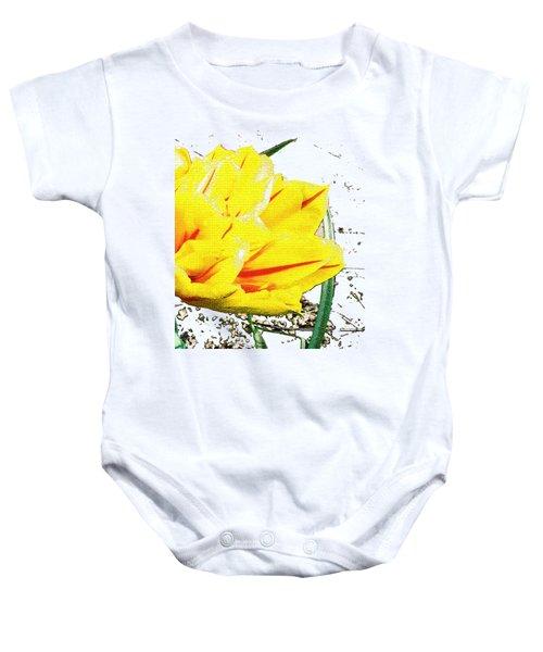 Tulip 3 Baby Onesie by Vesna Martinjak