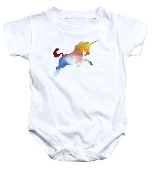 Unicorn Baby Onesie by Mordax Furittus