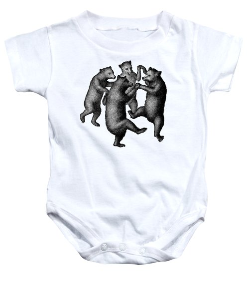 Vintage Dancing Bears Baby Onesie by Edward Fielding