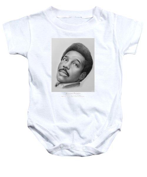 Wilson Pickett Baby Onesie by Greg Joens