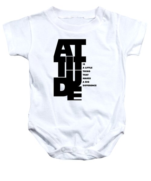 Winston Churchill Inspirational Typographic Quotes Poster Baby Onesie by Lab No 4 - The Quotography Department