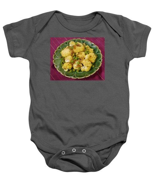 Curried Cauliflower Baby Onesie by Science Source