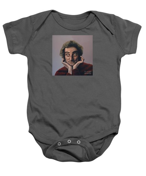 Marty Feldman Baby Onesie by Paul Meijering