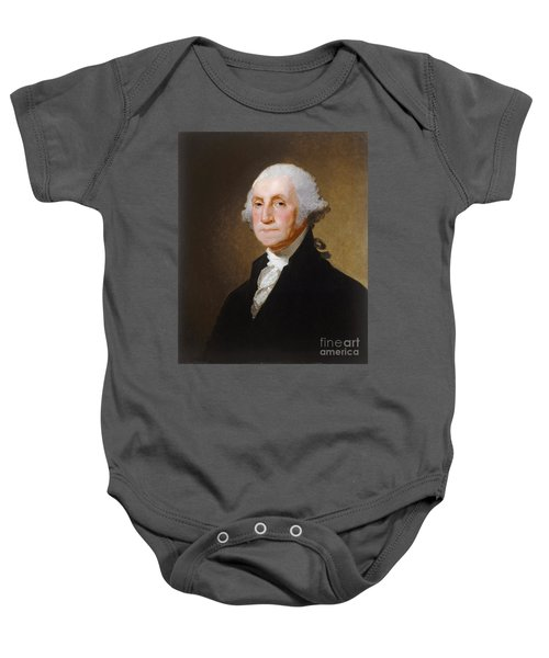 George Washington Baby Onesie by Gilbert Stuart