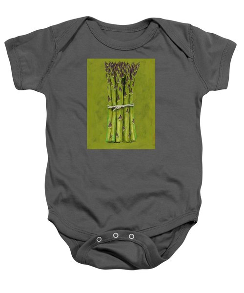 Asparagus Baby Onesie by Brian James