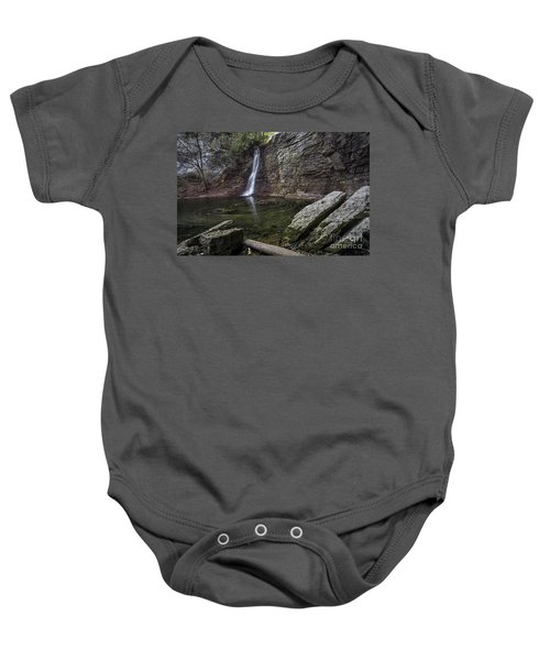 Autumn Swirls Baby Onesie by James Dean