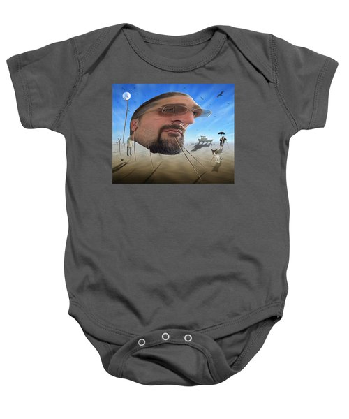 Awake . . A Sad Existence Baby Onesie by Mike McGlothlen