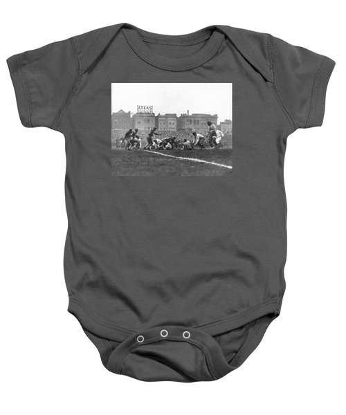 Bears Are 1933 Nfl Champions Baby Onesie by Underwood Archives