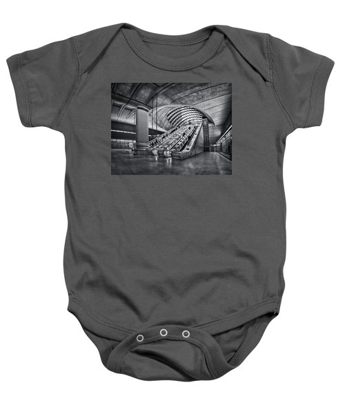 Beneath The Surface Of Reality Baby Onesie by Evelina Kremsdorf