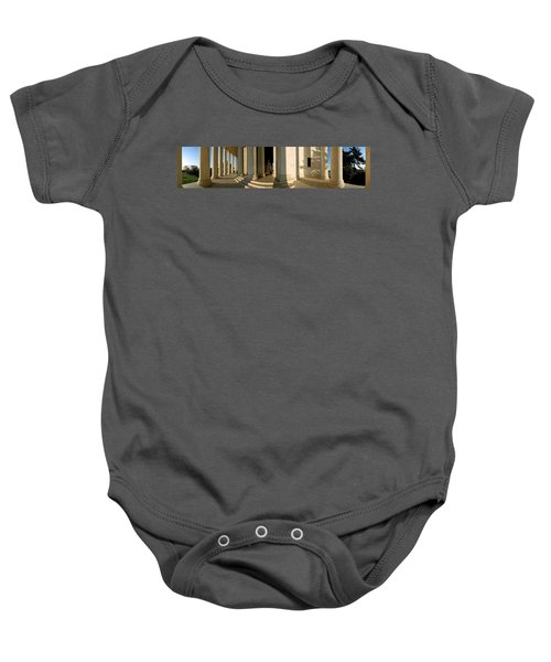 Columns Of A Memorial, Jefferson Baby Onesie by Panoramic Images