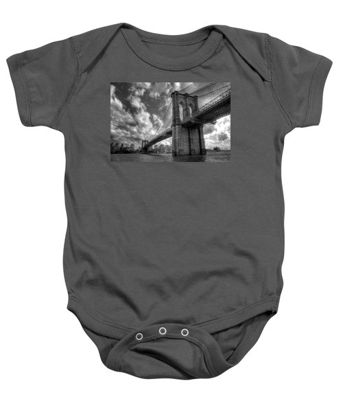 Connect Baby Onesie by Johnny Lam