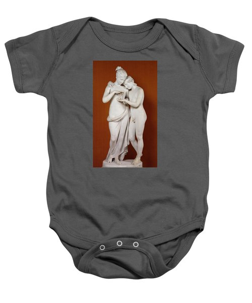 Cupid And Psyche Baby Onesie by Antonio Canova