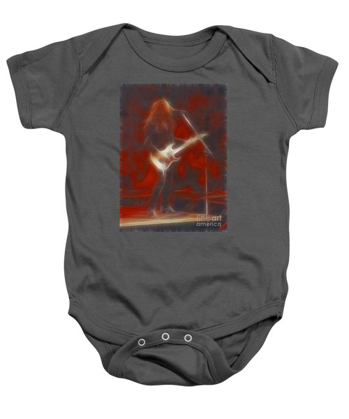 Deflep-adrenalize-vivian-ge11-fractal Baby Onesie by Gary Gingrich Galleries