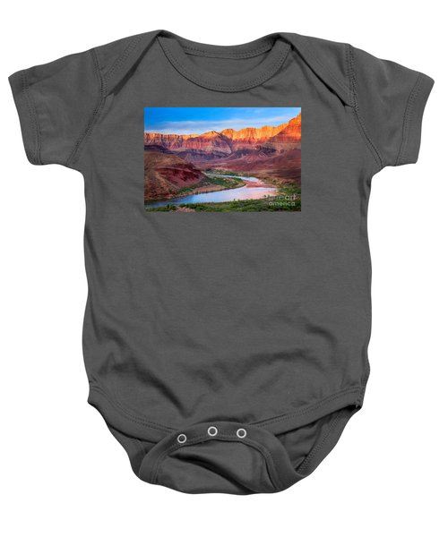 Evening At Cardenas Baby Onesie by Inge Johnsson