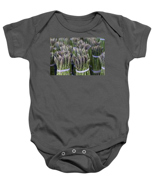 Fresh Asparagus Baby Onesie by Mike  Dawson