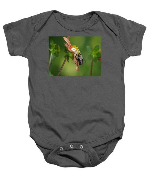 Goldenrod Spider Baby Onesie by James Peterson